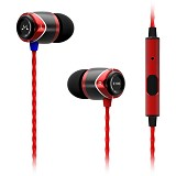 SOUNDMAGIC In Ear Sound Isolating Earphone E10S - Red